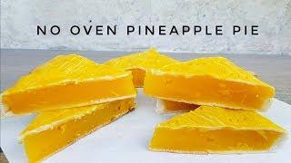Baixar No oven Pineapple Pie Bakery Style | How to make pineapple pie | No oven Pie (without oven recipe)