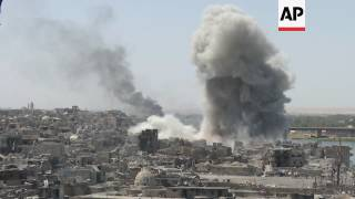 Iraq continue Mosul airstrikes despite victory