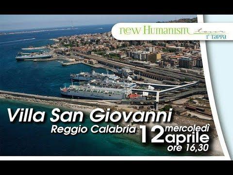 New humanism tour - Villa San Giovanni  12/04/2017 (RC) - Maurizio Sarlo