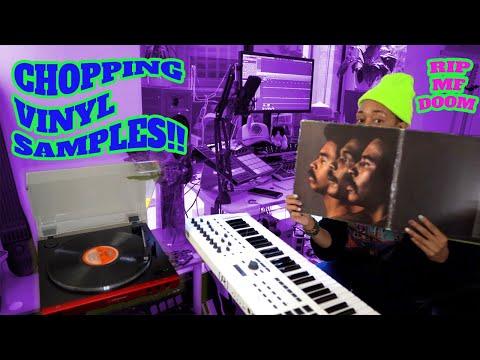 Beat making with vinyl in 2021 🎹 RIP MF DOOM 🙏🏾 Lofi Boom Bap Hip Hop