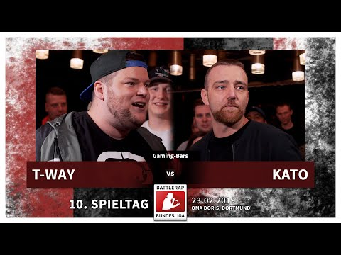 BRB 2019 | 10. Spieltag - Kato Vs T-Way (Gaming-Bars)