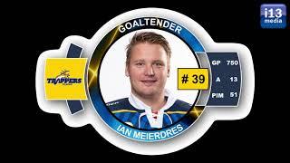 Ian Meierdres # 39 Goalie Tilburg Trappers