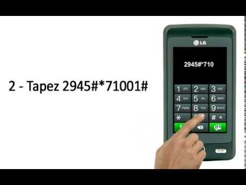 Comment Debloquer telephone Portable LG KP501
