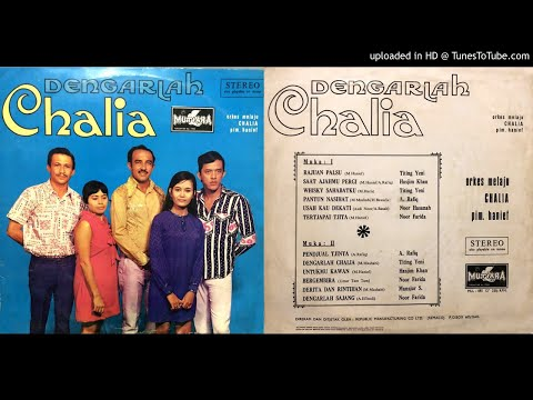 💿 ORKES MELAYU CHALIA ALBUM DENGARLAH CHALIA [FULL ALBUM]