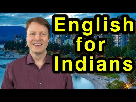 Learn English | Pronunciation | Indians | Lesson 1