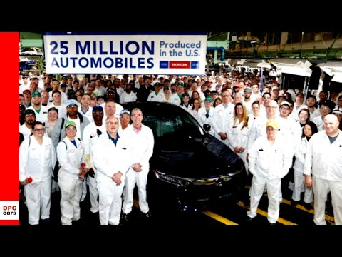 Honda Builds 25 Millionth Car in the USA