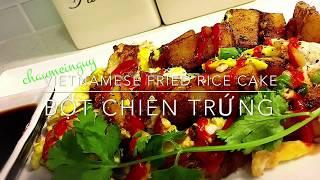 Vietnamese Fried Rice Cake