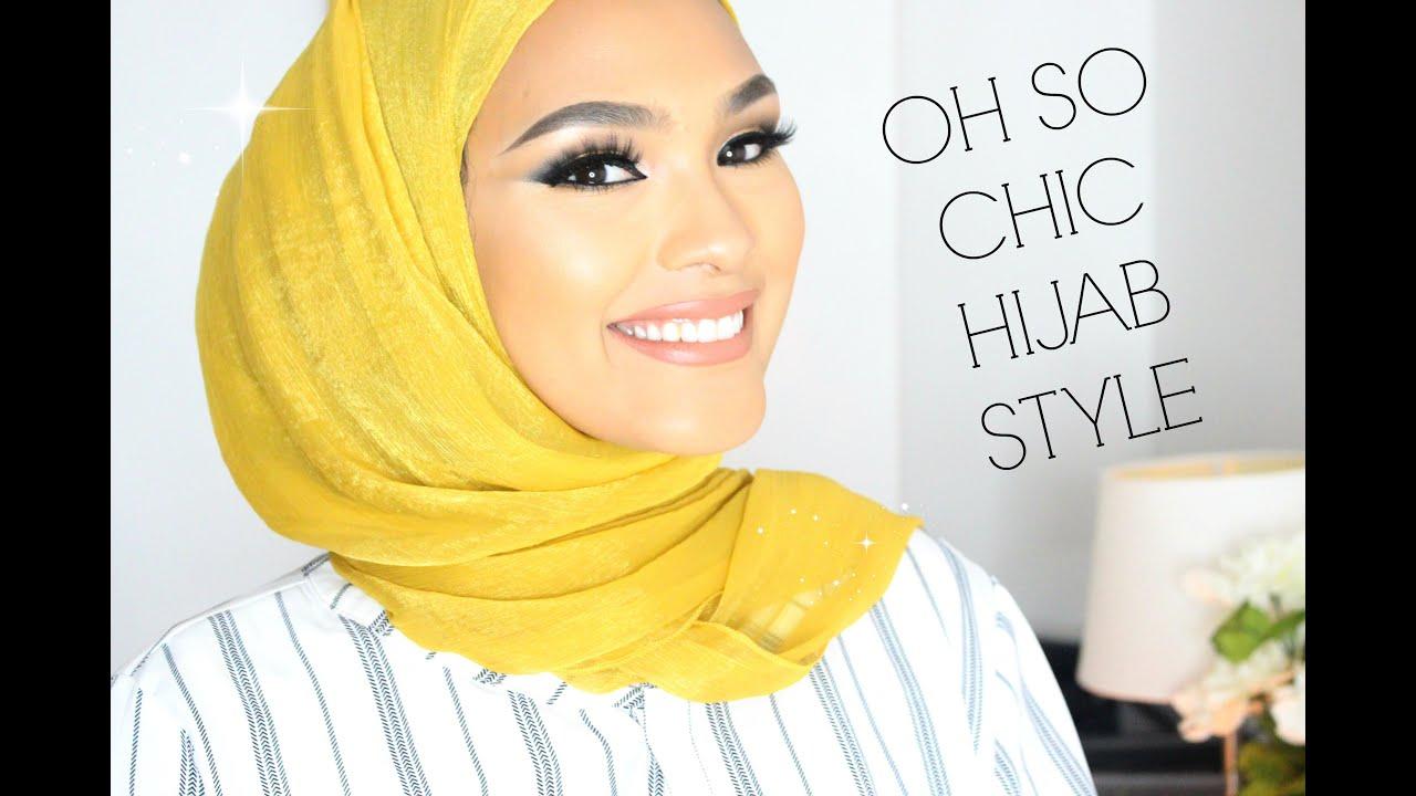 Trendy Chic Hijab Style Tutorial Hijab Fashion Inspiration