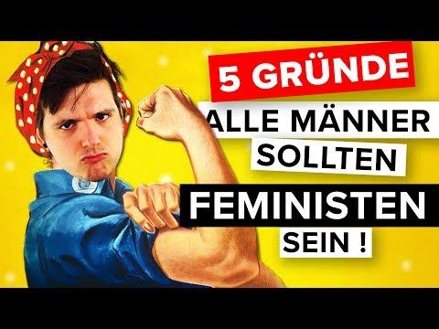 5 Gründe warum ALLE Männer Feministen sein sollten!