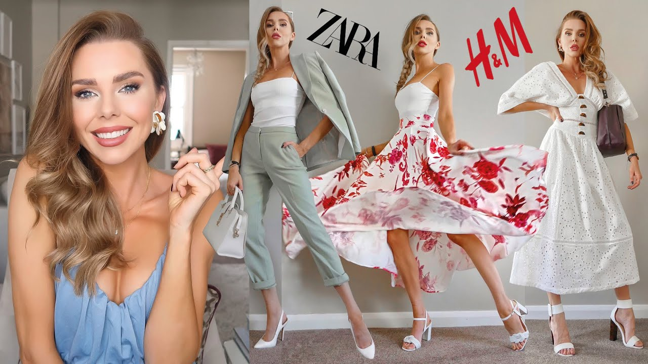 *NEW IN* ZARA H&M TOPSHOP // Haul & Try On // Everyday highstreet fashion!