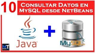 Consultar Datos en MySQL desde NetBeans [NetBeans con MySQL] [10/25]