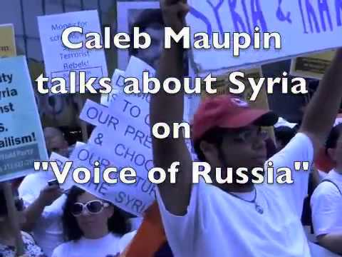 "The Truth About Syria - Caleb Maupin on ""Voice of Russia"" Radio"
