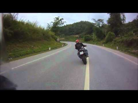 Motorcycle xe moto PKL riding to Lạng Sơn Vietnam clip2