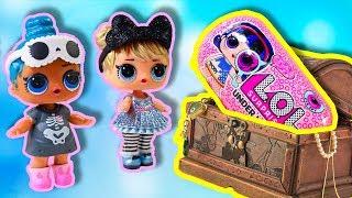 Куклы ЛОЛ нашли Капсулы UNDER WRAPS Распаковка игрушек Мультики #ЛОЛ Сюрпризы LOL Surprise doll