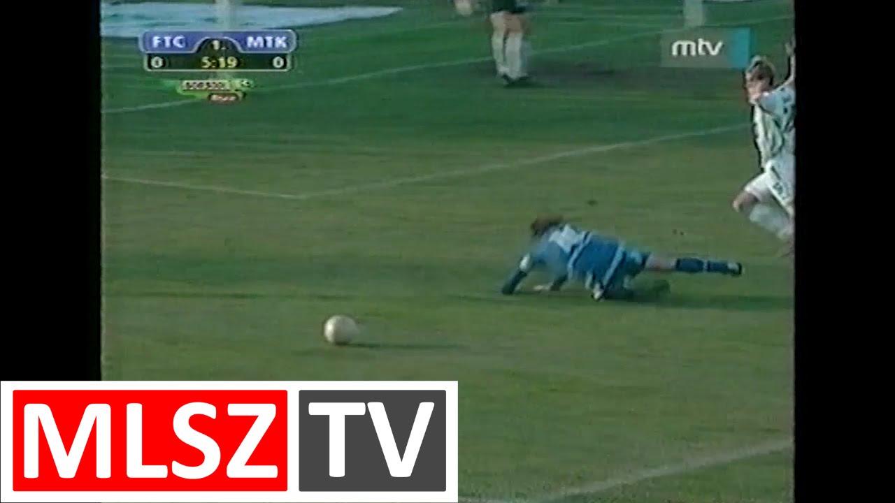 Ferencváros-MTK | 2-1 | 2003. 04. 11 | MLSZ TV Archív