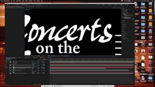 Concerts on the Square 2017 motion graphics