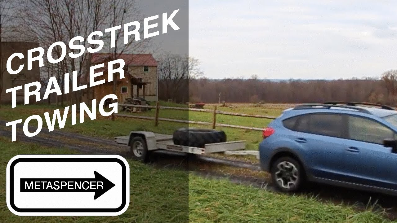 Subaru Crosstrek 2016 Trailer Towing Backup Camera