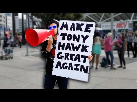 MAKE TONY HAWK GREAT AGAIN