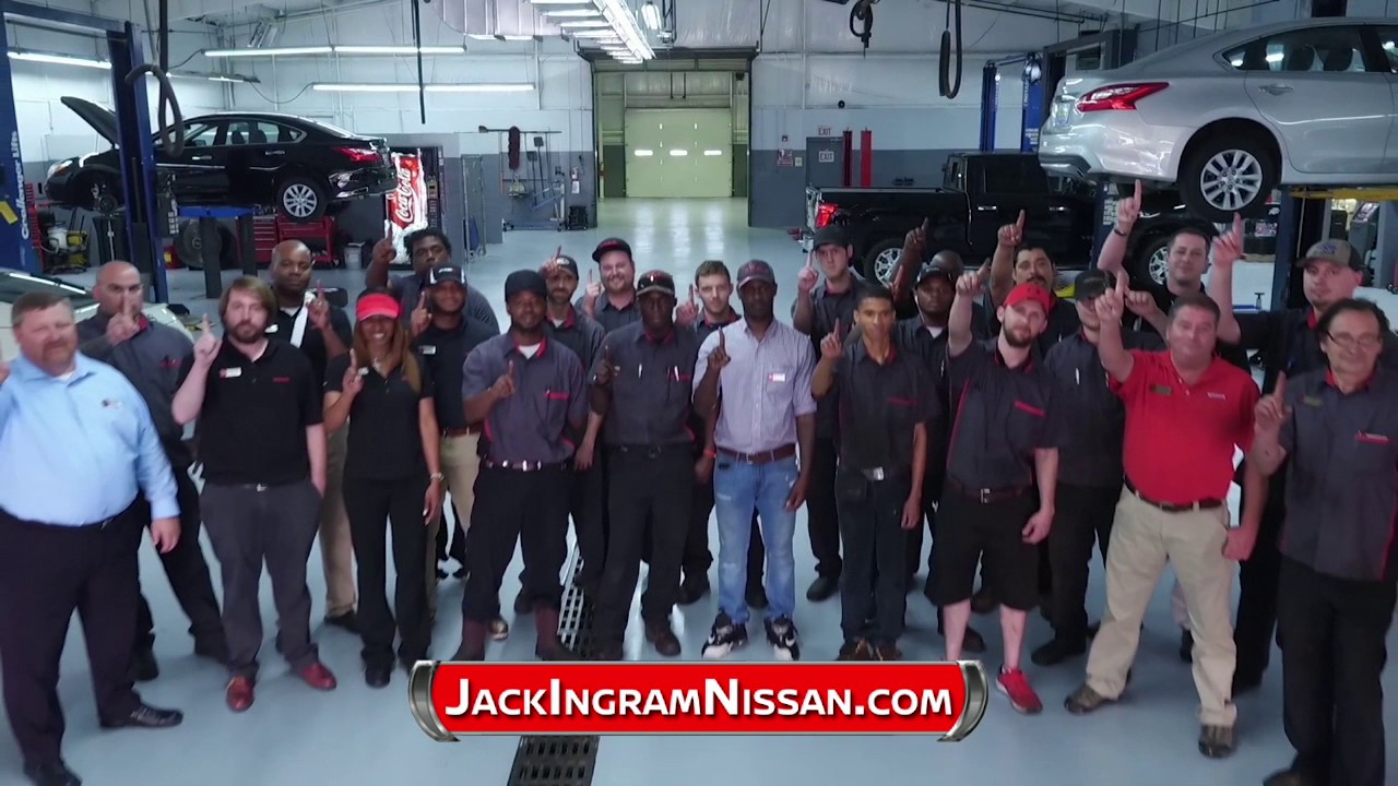 Welcome To Jack Ingram Nissan In Montgomery Youtube