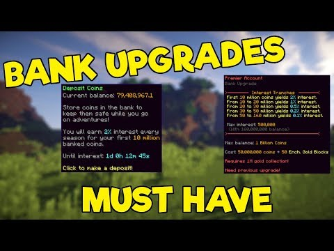 The Bank Upgrades Nobody Talks About - Hypixel Skyblock
