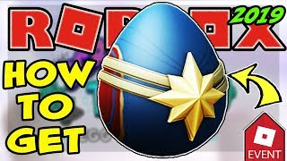[EVENT] HOW TO GET THE CAPTAIN MARVEL EGG | ROBLOX EGG HUNT 2019 Scrambled In Time