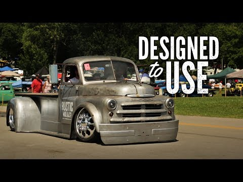 Designed To Use - Rustic Nail Shop Truck - Holley NHRA Hot Rod Reunion