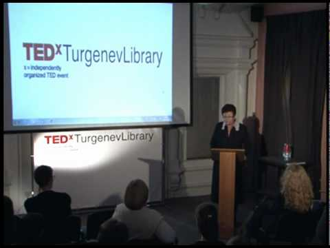 TEDxTurgenevLibrary - Ekaterina Genieva -  Humanitarian Mission of Libraries