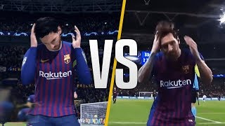 FIFA 20 vs Real Life - New Skills & Celebrations