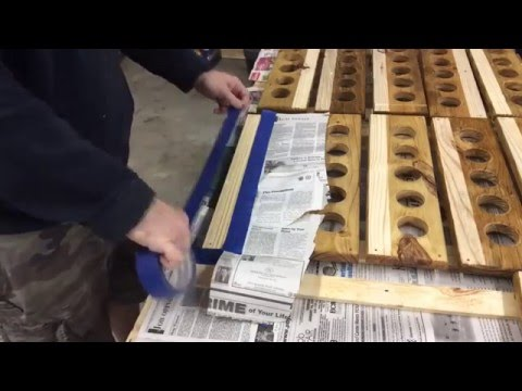 How to make a Craft Beer Flight from pallets