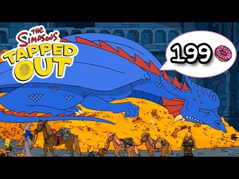 The Simpsons: Tapped Out - Burns Dragon - Premium Character Walkthroughs