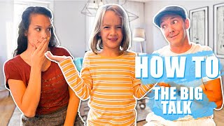 HOW to Talk to your KIDS about AWKWARD subjects! Talking to your children about SEX