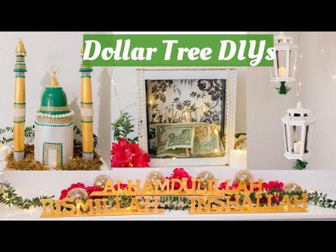 DIY DOLLAR TREE 🕌🌙RAMDAN DECORATIONS 🌙🕌2019
