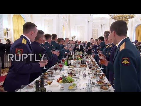 Russia: 'We intend to build up the combat potential of the army and navy' – Putin