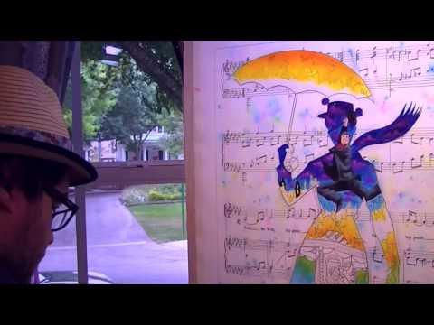 Artist Tim Rogerson - Creating