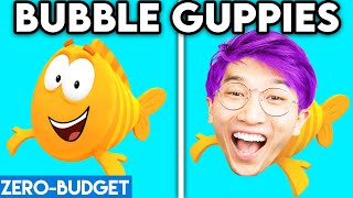 BUBBLE GUPPIES WITH ZERO BUDGET! (Bubble Guppies FUNNY PARODY By LANKYBOX!)