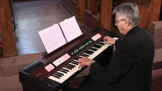 Roland C-200 Classic Organ - Hector Olivera - Largo from Xerxes