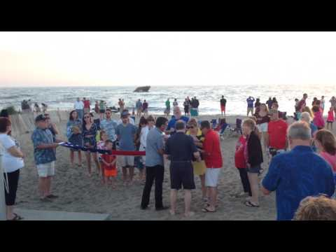 Cape May - Sunset Beach Flag Ceremony - Jonathan Hanahan