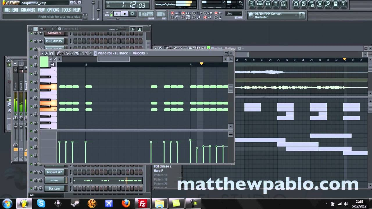 Grassy World Overture by Matthew Pablo [8-bit/Orchestral Game Music] [FL  Studio 10]