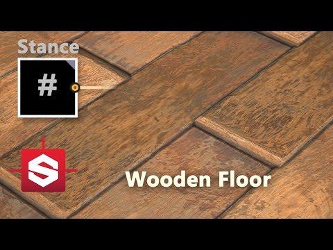 Wooden Floor - Substance Designer Material Breakdown