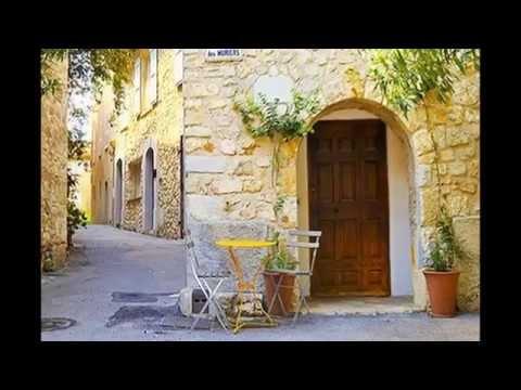 Cote d'azur Mougins village villa for rent pool and sea view