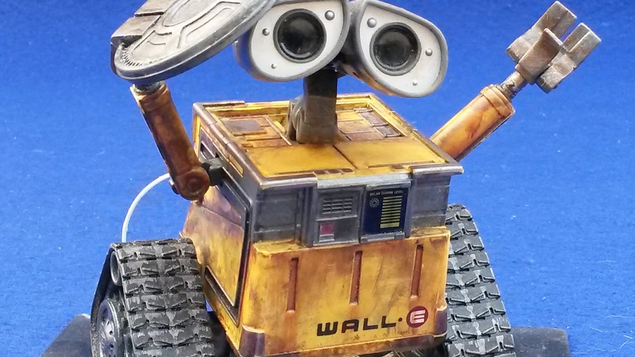 wall e de pixar jouet modifi youtube. Black Bedroom Furniture Sets. Home Design Ideas