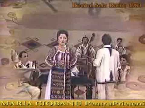 MARIA CIOBANU - In padurea de artar  LIVE 1984