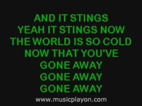 The Offspring - Gone Away (Karaoke Version)