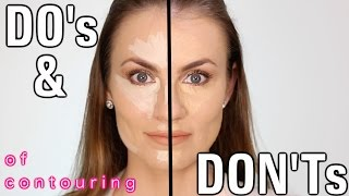 Makeup Do's and Don'ts: Highlighting and Contouring Mistakes to Avoid   Angela Lanter