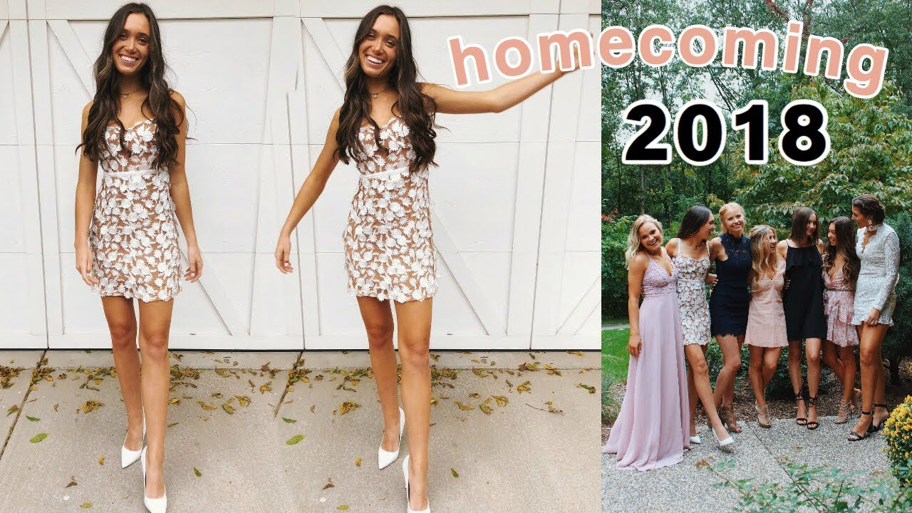 Senior Year Homecoming 2018 Get Ready With Me Vlog