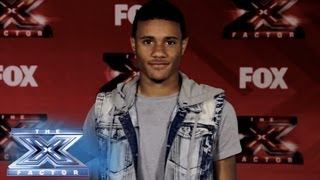 Yes, I Made It! Coriano Gibson - THE X FACTOR USA 2013