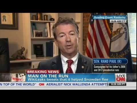 Rand Paul To Snowden: Don't 'Cozy Up' To Russia, China, History Will Judge Him Advocate Of Privacy
