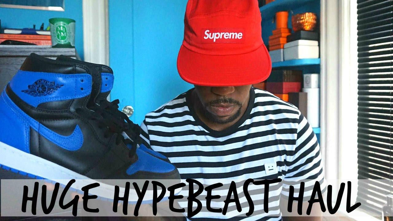 Huge Hypebeast Haul |Supreme, Hermes, Air Jordan Retro & More!