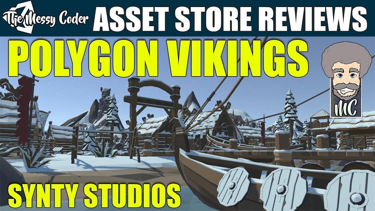 Unity Asset Kit Reviews - Polygon Viking Pack