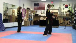Tae Kwon Do Black Belt Test